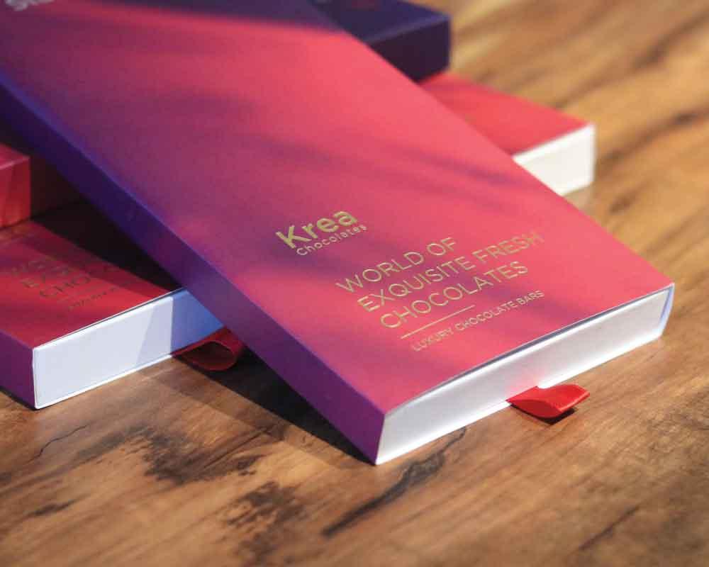 Chocolate customized rigid box