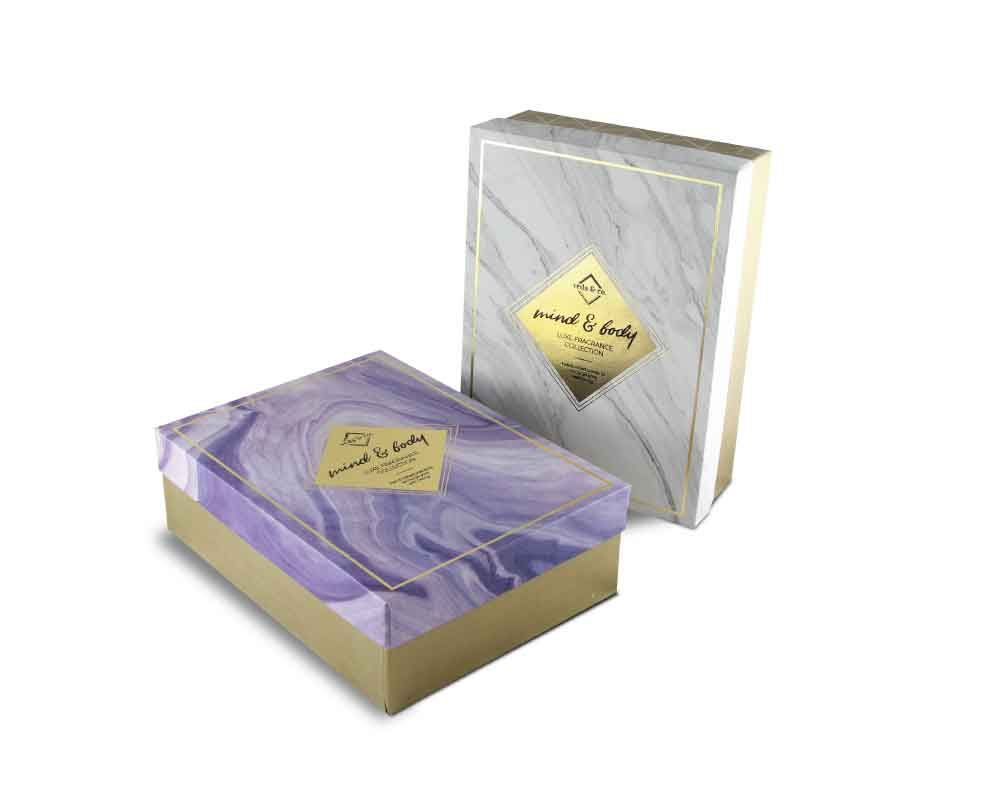 Customized perfume bottle box packaging -Rigid box