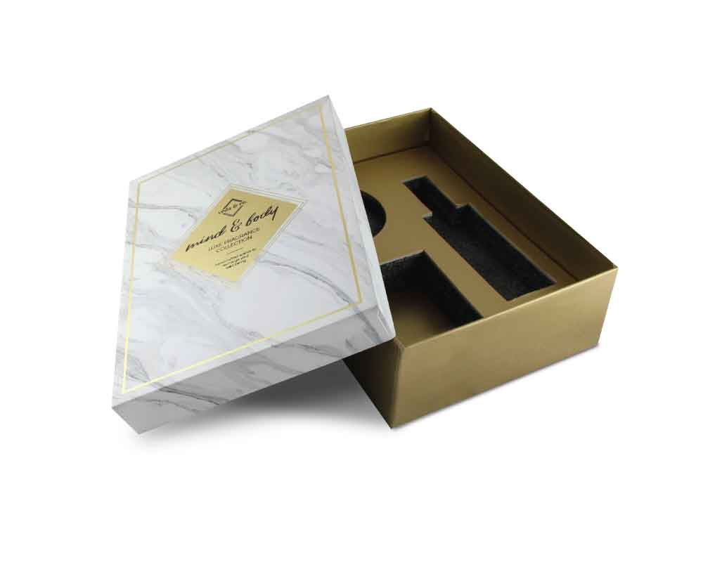 Customized perfume bottle box packaging - kreatica designs