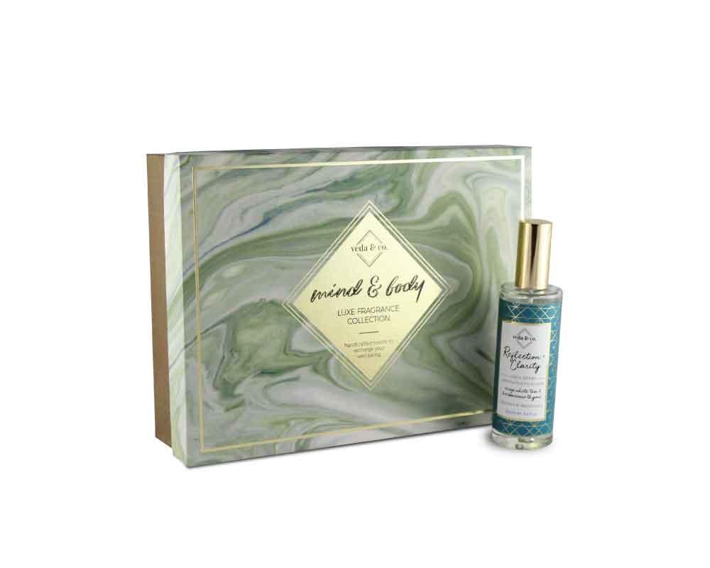 Customized perfume bottle box packaging - mind & body