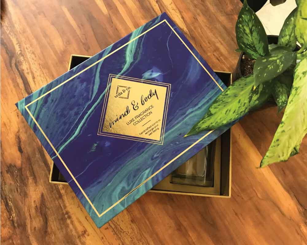 Customized perfume bottle box packaging