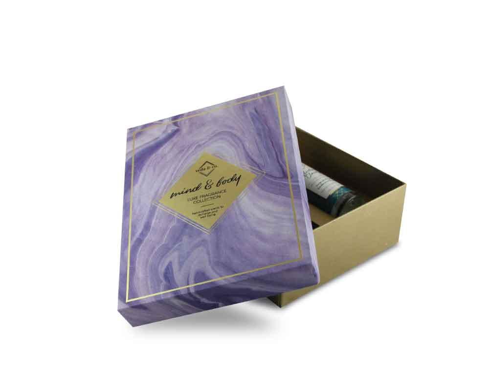 Kreatica designs - Customized perfume bottle box packaging