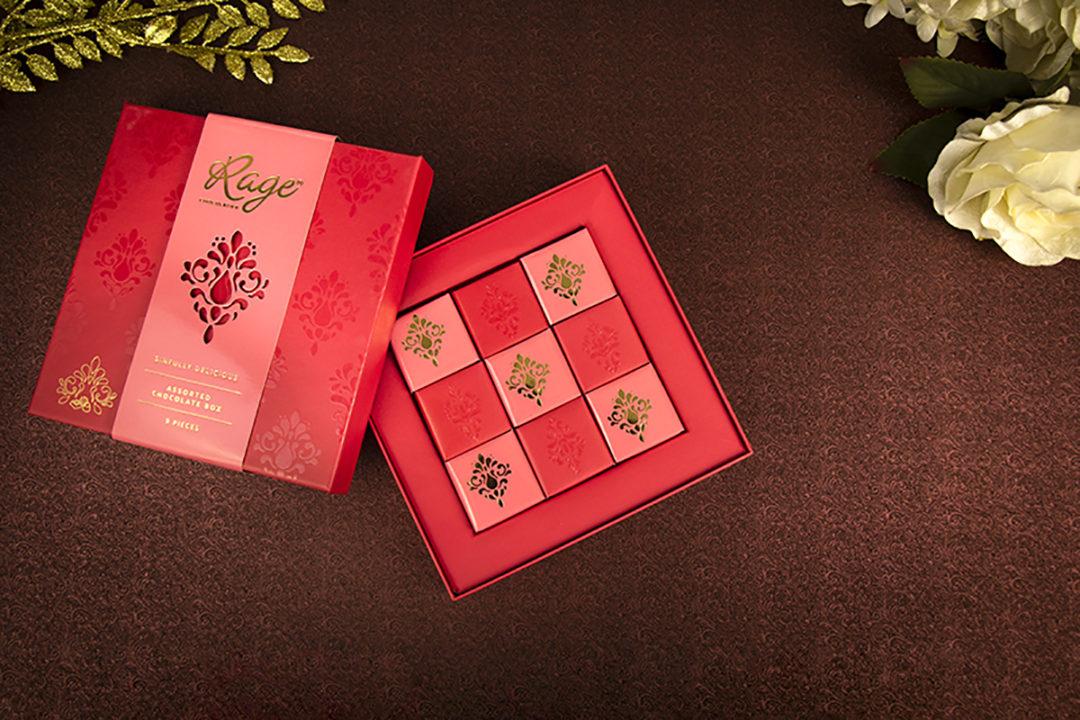Kreatica designs - Luxury Chocolate Box Packaging