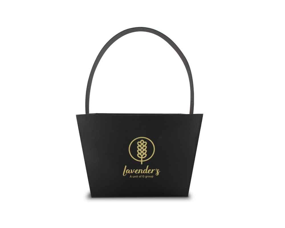 Lavenders Customized Flower Basket - kreatica designs