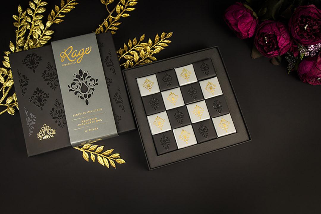 Luxury Chocolate Box Packaging - rage