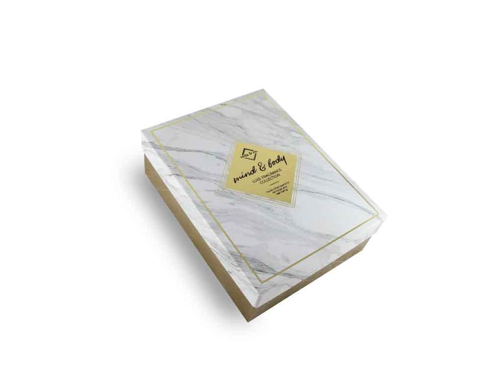 Rigid box - Customized perfume bottle box packaging