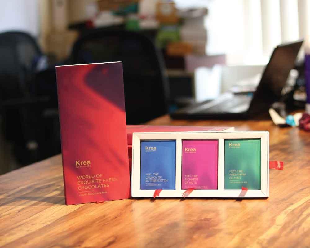 kreatica designs - Chocolate customized rigid box